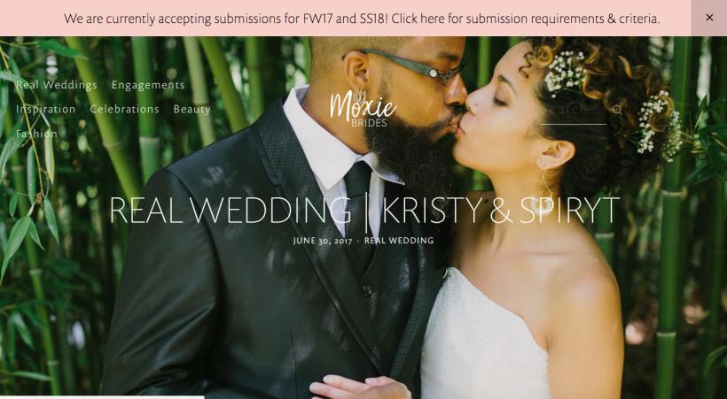 Moxie Brides Website